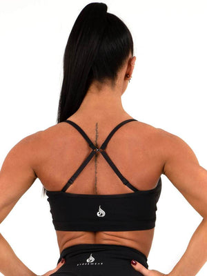 Ryderwear | Staples Sports Bra - Black | MVMNT LMTD