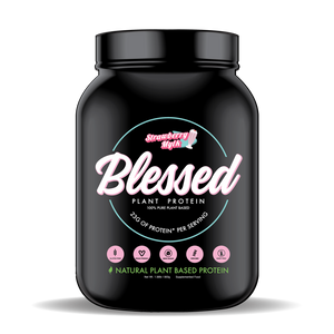 Blessed Vegan Protein | Strawberry Mylk | MVMNT LMTD
