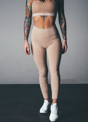 Superior Apparel | MVMNT LMTD | Superior Apparel LATTE LEGGINGS