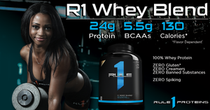 Rule One Proteins | MVMNT LMTD |  R1 WHEY BLEND - 100% Whey Blend | Australia
