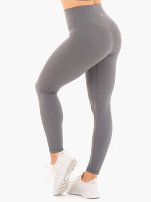 Ryderwear | NKD High Waisted Leggings - Charcoal | MVMNT LMTD