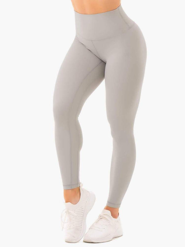 Ryderwear | NKD High Waisted Leggings - Grey | MVMNT LMTD