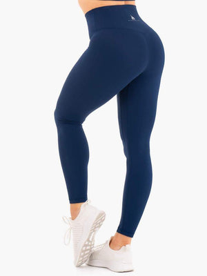 Ryderwear | NKD High Waisted Leggings - Navy | MVMNT LMTD