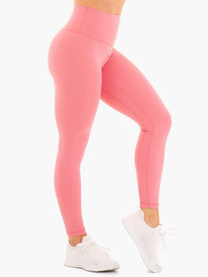 Ryderwear | NKD High Waisted Leggings - Rose | MVMNT LMTD
