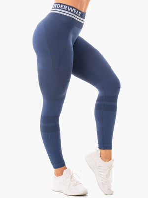 Ryderwear | Freestyle Seamless High Waisted Leggings - Steel Blue