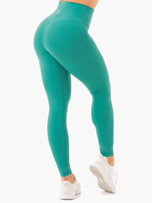Ryderwear | NKD High Waisted Leggings - Turquiose | MVMNT LMTD