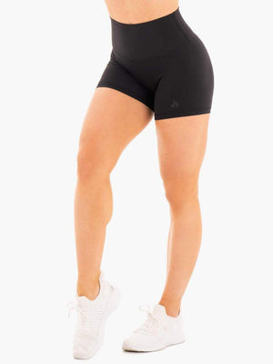 Ryderwear | NKD High Waisted Shorts - Black | MVMNT LMTD