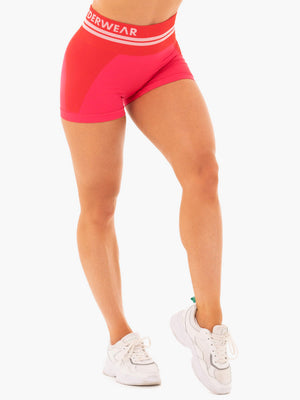 Ryderwear | Freestyle Seamless High Waisted Shorts - Red