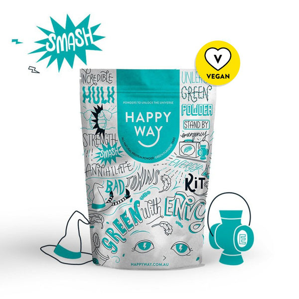 Happy Way | MVMNT LMTD | Greens Powder | Australia