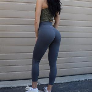 Til You Collapse | Premium Steel Classic Leggings (ONLY SIZE XL LEFT)
