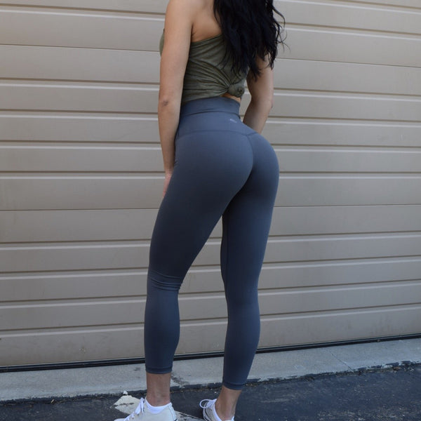 Til You Collapse | Premium Steel Classic Leggings (ONLY SIZE L & XL LEFT)
