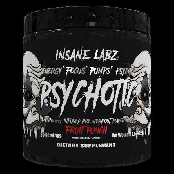Insane Labz | Psychotic Black - Pre Workout | MVMNT LMTD