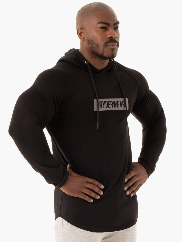 Ryderwear | Base Pullover Jumper - Black | MVMNT LMTD