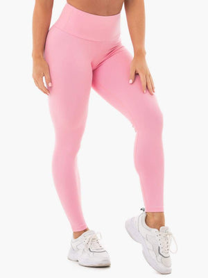 Ryderwear | Staples Scrunch Bum Leggings - Pink | MVMNT LMTD
