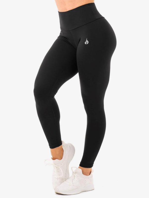 Ryderwear | Staples High Waisted Leggings - Black | MVMNT LMTD