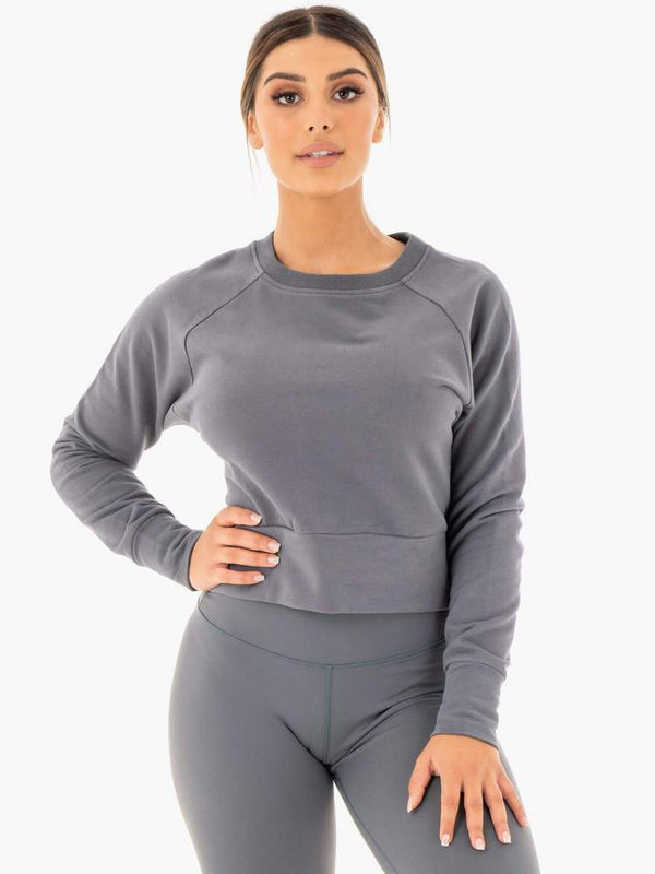 Ryderwear | Motion Sweater - Charcoal | MVMNT LMTD