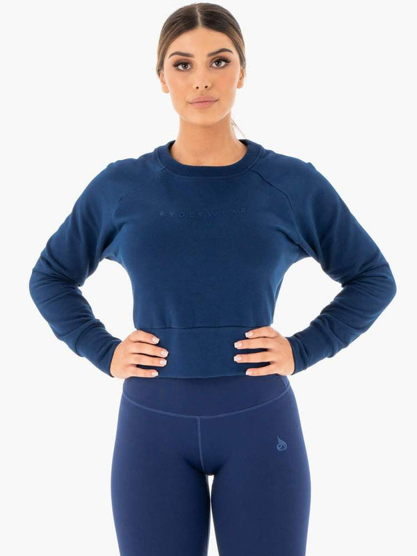 Ryderwear | Motion Sweater - Navy | MVMNT LMTD