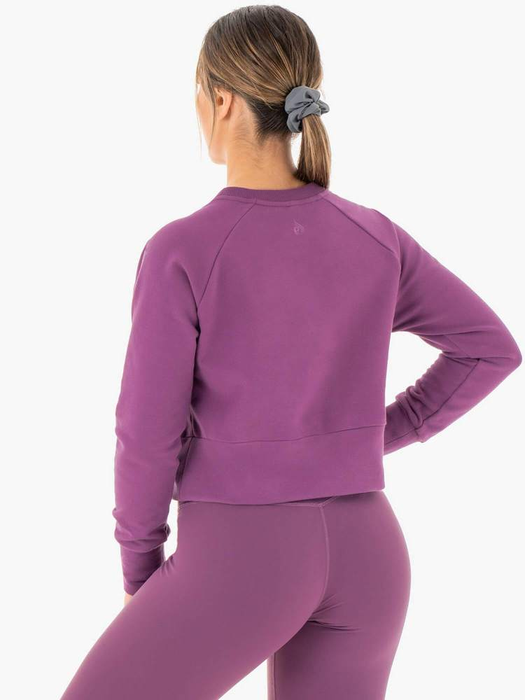 Ryderwear | Motion Sweater - Purple | MVMNT LMTD