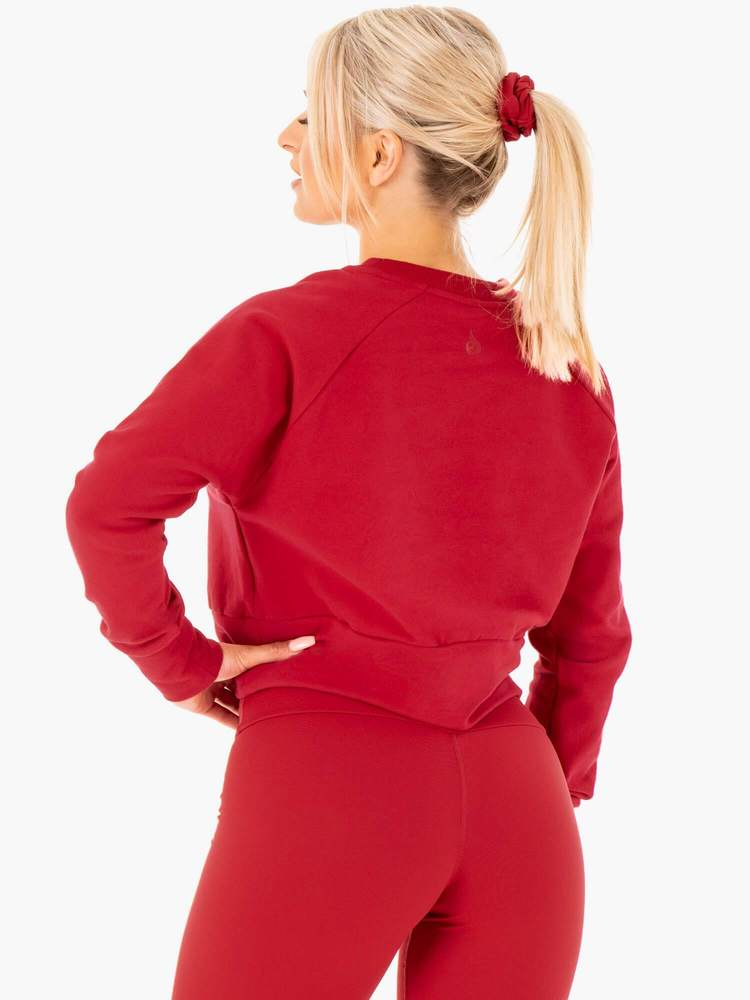 Ryderwear | Motion Sweater - Red | MVMNT LMTD