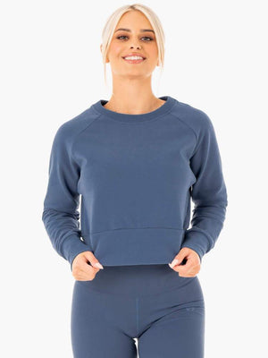 Ryderwear | Motion Sweater - Steel Blue | MVMNT LMTD