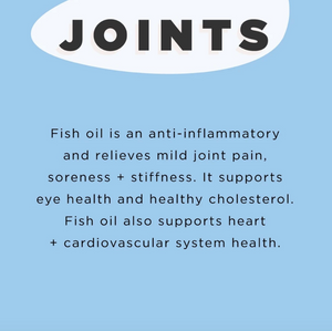 JSHealth Vitamins | Mental Wellbeing + Skin + Joints - Fish Oil | MVMNT LMTD
