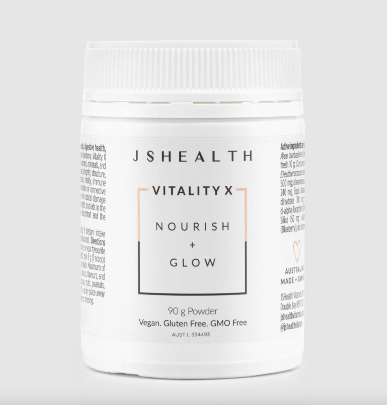 JSHealth Vitamins | Vitality X Nourish + Glow Powder | MVMNT LMTD