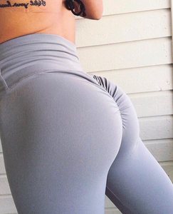 ABS2B Fitness Apparel | Marilyn Munroe Waistband | Silver Scrunch Booty Capris