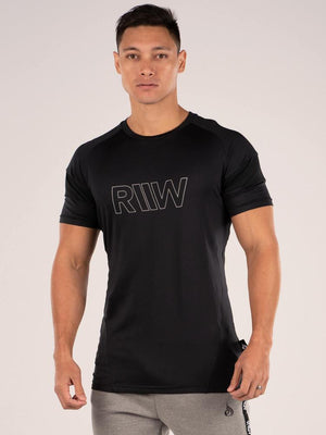 Ryderwear | Shield T-Shirt - Black | MVMNT LMTD