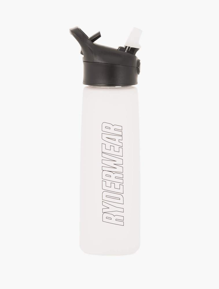 Ryderwear | Straw Drink Bottle - Clear | MVMNT LMTD