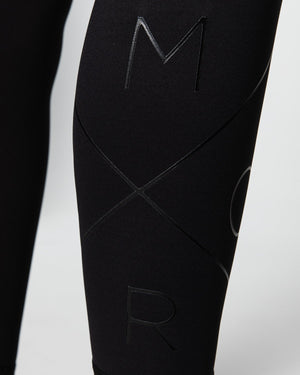 Muscle Republic | Inspire 7/8 Leggings - Black | MVMNT LMTD