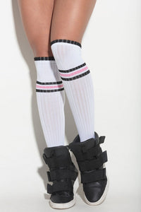 Hipkini Fitness | MVMNT LMTD | Socks Land White Stripes | Australia