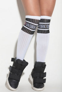 Hipkini Fitness | MVMNT LMTD | Socks Land Go Work Out White | Australia