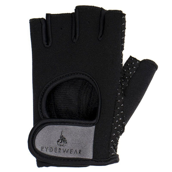 RYDERWEAR GYM FITNESS CLOTHING | MVMNT LMTD | LIFTING GLOVES -BLACK/GREY