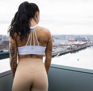 Til You Collapse | Premium Tan Classic Leggings