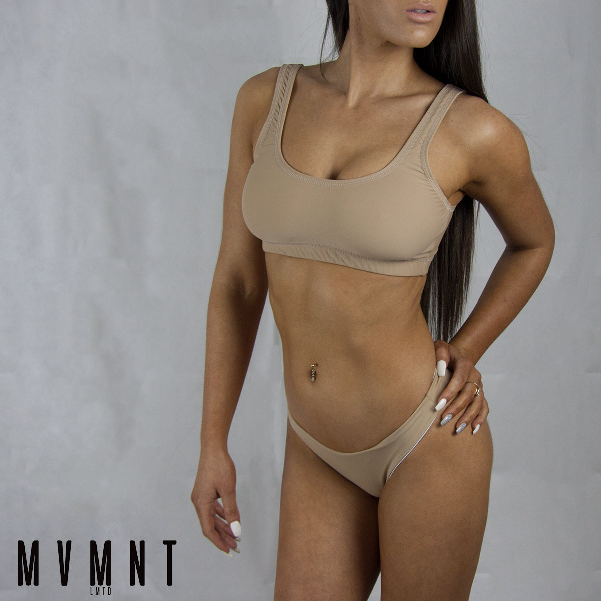 Muscle Swim by ABS2B Fitness | MVMNT LMTD | Paula Bikini Top