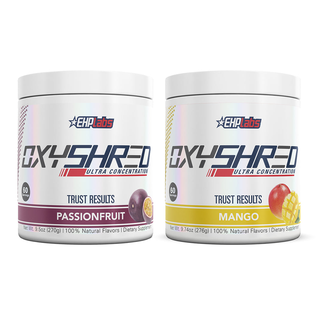 EHPlabs | OxyShred Twin Pack