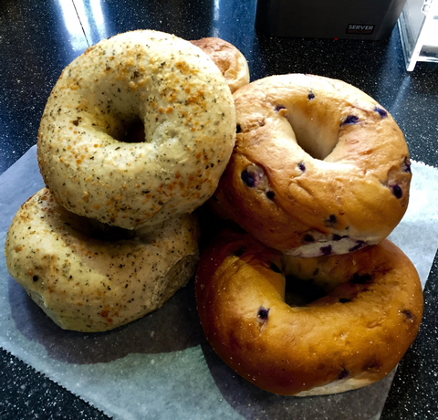 Our yummy bagels!