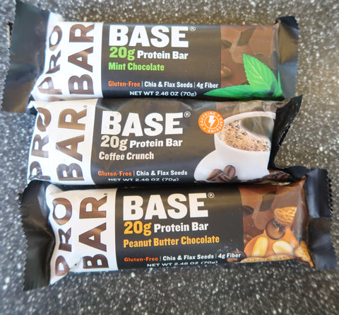 Fuel up with our protein packed Pro Bars!