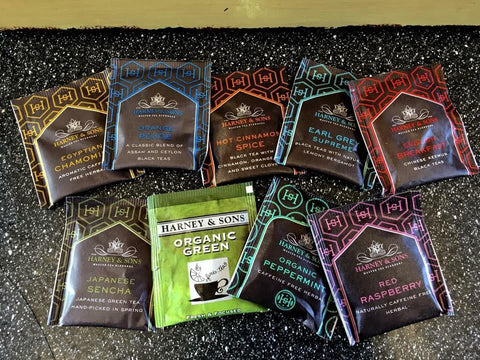 Our tea flavors!
