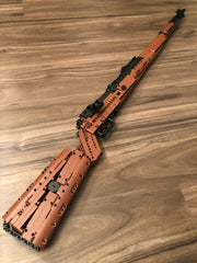 Mould King Mauser 98K Sniper Rifle Fully Built Right Side
