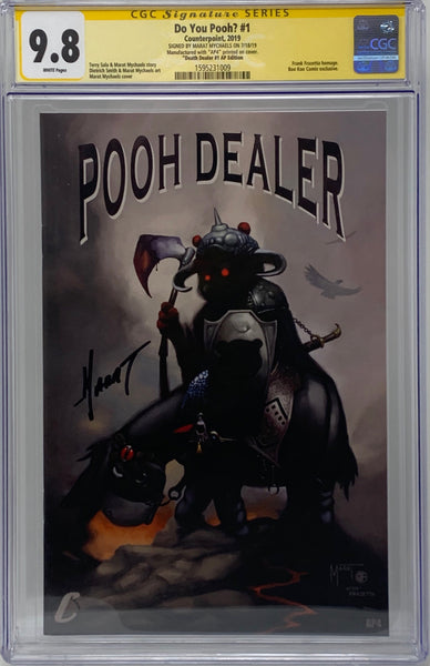 "Do You Pooh? #1 (2019) CGC 9.8 SS Marat Mychaels ""Death Dealer #1 AP Edition"" Artist Proof (AP4)"