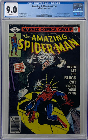 Amazing Spider Man #194 CGC 9.0