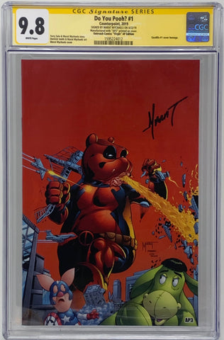"Do You Pooh? #1 (2019)  CGC 9.8 SS Marat Mychaels ""Outreach Comics 'Virgin' AP Edition"" Artist Proof (AP3)"