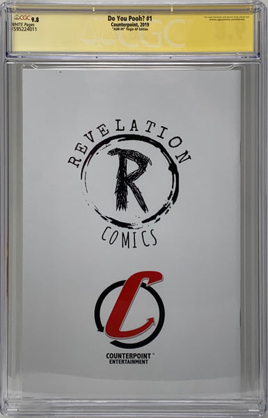 "Do You Pooh? #1 (2019) CGC 9.8 SS Marat Mychaels ""Amazing Spider-Man #9 'Virgin' AP Edition"" Artist Proof (AP5)"
