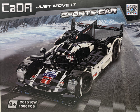Double Eagle Porsche 919 Hybrid CaDA C61016 Brick Set (LEGO STYLE MOTORIZED AND STATIC MODEL)