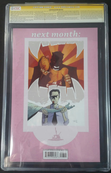 Chew #8 CGC 9.4 SS Signed by John Layman & Rob Guillory Back