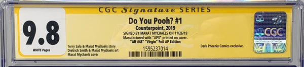 "Do You Pooh? #1 (2019) CGC 9.8 SS Marat Mychaels ""Alf #48"" Virgin Foil (AP3)"