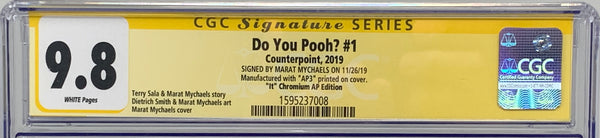 "Do You Pooh? #1 (2019) CGC 9.8 SS Marat Mychaels ""It"" Chromium AP3"