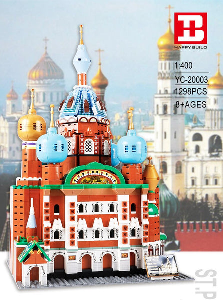 Saint Petersburg MOC Happy Build Brand 1/400 Architecture YC-20003(LEGO STYLE MODEL)