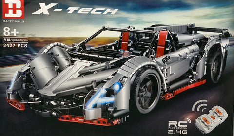 Lamborghini Veneno MOC Happy Build XD-1003 (LEGO STYLE MOTORIZED MODEL)